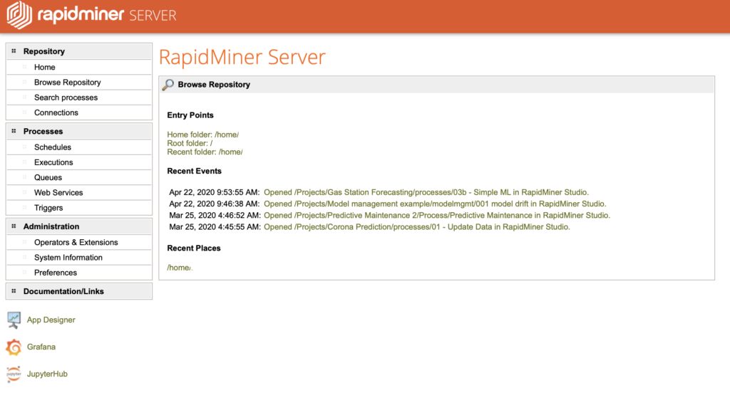 RapidMiner for teams